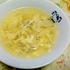 豚肉と玉ねぎの和風スープ