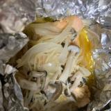 サクラマス の味噌マヨホイル焼き