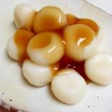簡単懐かしの味(^^)米粉と白玉粉のみたらし団子♪