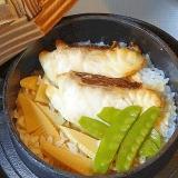 潮汁をremake☆ 専門店風「鯛の釜飯」
