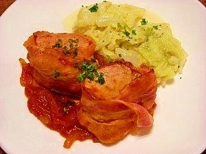 圧力鍋で☆豚ヒレ肉のトマトソース煮