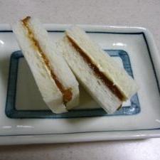 ☆梅ジャムバターのサンドイッチ☆