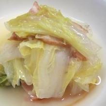 白菜とベーコンの重ね煮