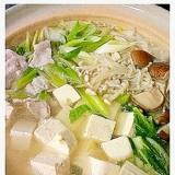 塩鶏がらスープ鍋