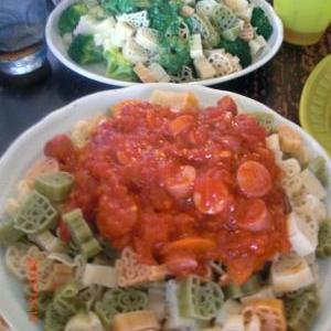 パスタにお肉に!トマト缶で簡単トマトソース。