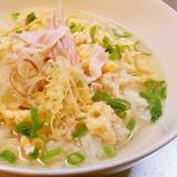 鶏ささみの中華スープご飯◆ヘルシー,朝食,風邪にも