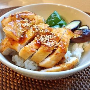簡単☻安い+美味しい♪鶏ムネ肉の照り焼き丼