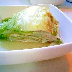 スチーマーで簡単!白菜と豚のミルフィーユ