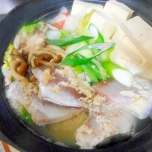 カワハギの塩麹鍋
