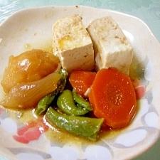 野菜と豆腐の煮物