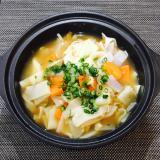 【鍋レシピ11選】(4)だご汁風みそ鍋