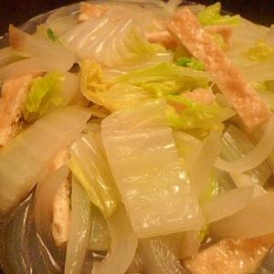 レンジで5分☆白菜の煮物 中華風