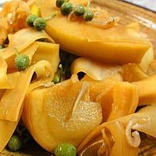 真竹の山椒じゃこ煮