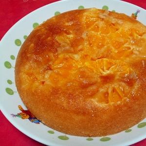 炊飯器で簡単☆みかんケーキ