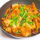 上手い! 椎茸と鶏のバター醤油炒め