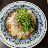 豚しゃぶおろし ぶっかけ素麺