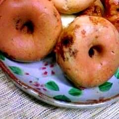 簡単!黒糖入り焼きドーナツ