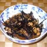 ひじきと大豆の煮物☆蒸し大豆使用