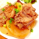 圧力鍋で☆柔らか〜い豚と大根の煮物♪