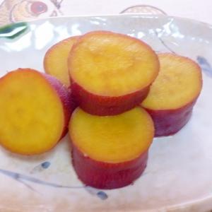 レモンティーで作る☆さわやか♪さつま芋の甘煮