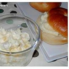 ベーグルに!りんごとクリームチーズ