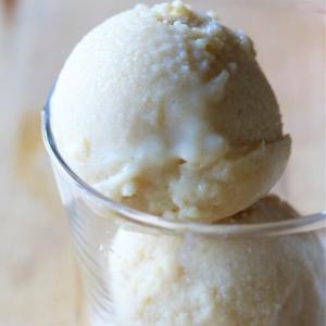超簡単!ココナッツのアイスクリーム