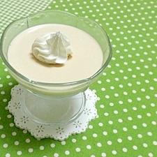 紅茶とココナツミルクのゼリー