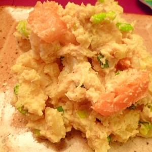 和風スモークサーモンのポテトサラダ