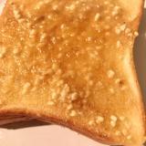 絶品★ピーナッツバタートースト♪