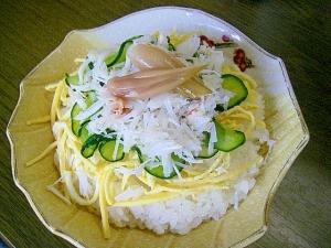 酢飯が絶品!美味し過ぎる~~~!蟹チラシ寿司!