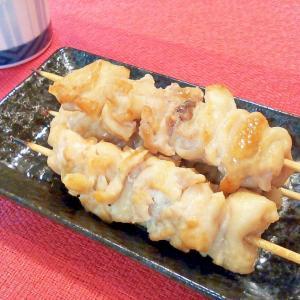 ♪超節約レシピ♡鶏皮の串焼き♪
