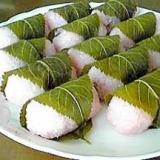 ひな祭りに!春の香りの桜餅(道明寺)