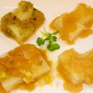 餅消費/からみ餅(大根おろし餅)◆雑煮に飽きたら