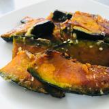簡単おつまみ!かぼちゃのオイマヨ炒め♫