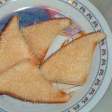 黒糖ざらめの食パンラスク