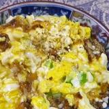 スピード料理、豆腐のおかか卵
