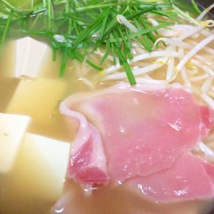 生姜焼き用豚肉でお鍋