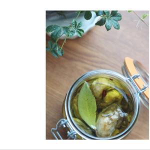 牡蠣のオリーブ漬け