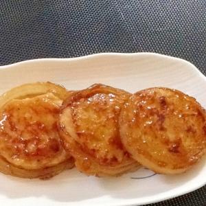 玉ねぎの肉詰め(照り焼き)