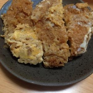 シンプル♪シンプル♪豚カツの卵とじ(*^^*)★