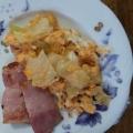 お弁当に♪キャベツと卵のバター炒め