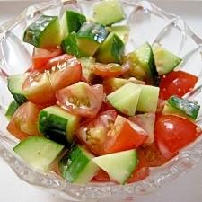 ダブルトマトのサラダ