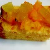 オレンジパウンドケーキおんキウイ&きんかん