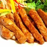豚ロース肉で簡単 《トンテキ》
