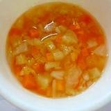野菜たっぷりトマトスープ(離乳食中期)