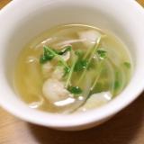 *かつおだしの和風スープ*