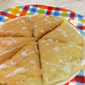 しっとりモチモチ☆バナナとお豆腐のパンケーキ