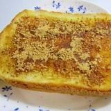 メープルきなこトースト