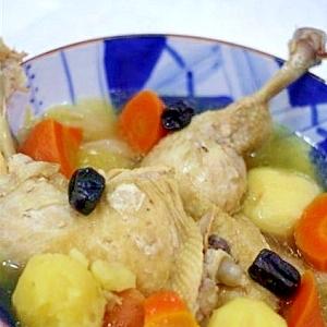 参鶏湯(サムゲタン)のポトフ風