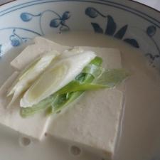 女の子のための☆豆乳豆腐